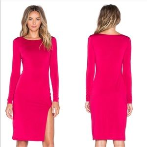 Lovers + Friends • Perfect Red Long Sleeve Dress